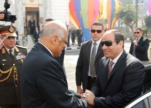 """""""عبدالعال"""" يهنئ الرئيس السيسى بذكرى عيد الشرطة وثورة يناير"""