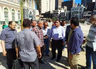 رئيس هيئة السكة الحديد يتفقد أعمال تطوير المحطات غرب الدلتا