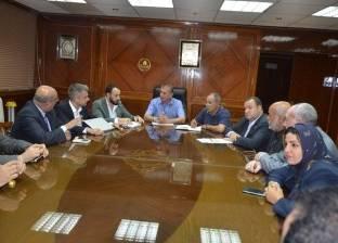 محافظ كفر الشيخ يلتقي وفدا إيطاليا للاستثمار في مجال تدوير المخلفات الزراعية