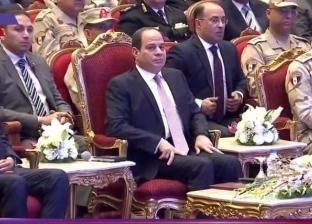 """السيسي عن تولي """"الوزير"""" النقل: أنا بدي المرفق واحد من أحسن ضباط الجيش"""