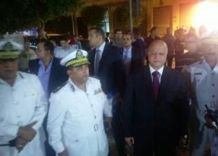 بالصور| مدير أمن القاهرة يتفقد سينمات ومطاعم وسط المدينة