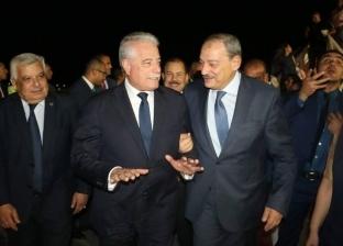 محافظ جنوب سيناء يستقبل النائب العام بمطار شرم الشيخ الدولي