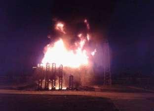 إصابة 7 في حريق اندلع بمخزن بويات وحدايد بالمنيا