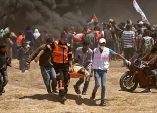 استشهاد 37 فلسطينيا برصاص الجيش الإسرائيلي خلال المواجهات على حدود غزة