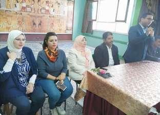 مبادرة للحفاظ علي كورنيش المنيا بالتعاون مع طلبة المدارس