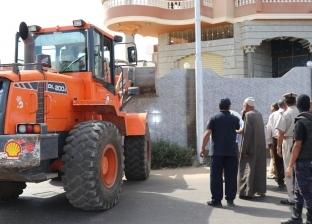 صور.. حملة مكبرة لإزالة التعديات ضمن الموجة الـ 13 بكفر الشيخ
