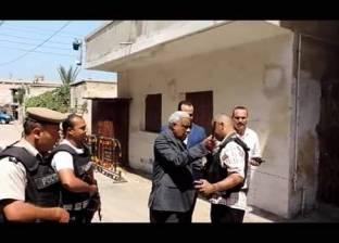 بالصور| مدير أمن كفر الشيخ يتفقد الخدمات الأمنية أمام الكنائس والكمائن