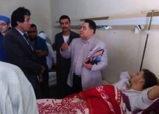 وكيل صحة الشرقية يتفقد مستشفى الأحرار