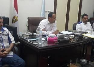 """رئيس """"دسوق"""" يطالب رؤساء الوحدات المحلية بإنهاء الخطة الاستثمارية"""