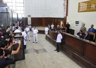 """تأجيل إعادة محاكمة 3 متهمين في أحداث """"محمد محمود"""" لـ7 أكتوبر"""