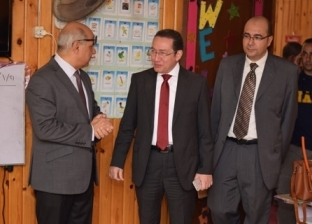 """وفد """"أفضل جامعة مصرية"""" يشيد بإمكانيات كفر الشيخ"""