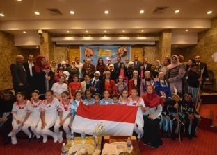 """افتتاح معرض ختام الأنشطة الطلابية بالبحيرة تحت شعار """"مصر حب لا ينتهي"""""""