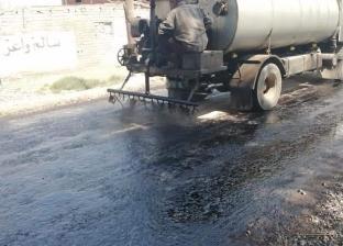 5 مليون جنيه لرصف الطرق في أبو حمص