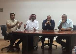 """""""رئيس دهب"""" يناقش تطوير منطقة """"البلوهول"""" مع وزارة البيئة"""