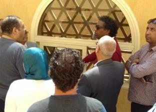 بالصور  عواض يتفقد إنشاءات قصر ثقافة جمال عبدالناصر بأسيوط