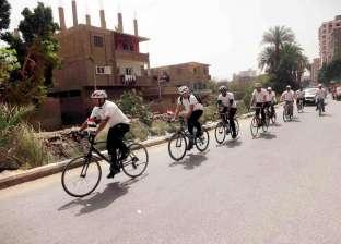 انطلاق ماراثون الدراجات بسوهاج لنشر ثقافة ترشيد استهلاك المياه