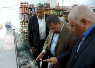 تحرير 65 محضرا في حملات تموينية بجنوب سيناء