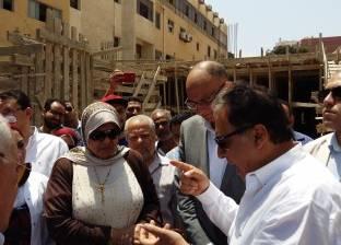 وزير الصحة من بورسعيد: ملف لكل مريض في مستشفيات التأمين الصحي الجديد