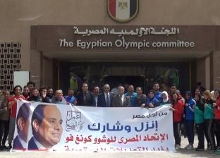 مؤتمر اللجنة الأولمبية لتأييد التعديلات الدستورية