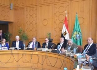 """""""شوشة"""" و""""عثمان"""" يرافقان بعثة البنك الدولي للتعرف على مشروعات سيناء"""