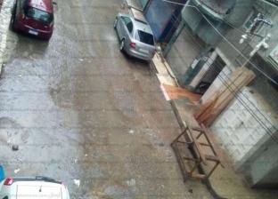 لدقائق.. سقوط أمطار خفيفة في مناطق بالفيوم
