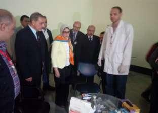 """زايد تزور أسيوط لمتابعة تنفيذ مبادرة الرئيس للقضاء على """"فيروس سي"""""""
