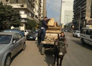 حجز 19 عربة يد و11 تروسيكل في حملة أمنية بالقاهرة خلال 24 ساعة