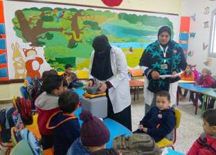 بالصور| انطلاق حملة التطعيم ضد شلل الأطفال بجنوب سيناء