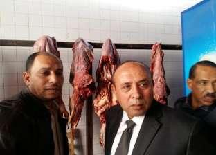"""ضبط 552 كيلو جرام لحوم فاسدة في """"محطة مصر"""" بالإسكندرية"""