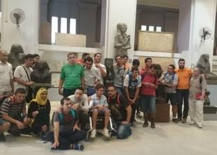 رئيس قطاع المتاحف: تخصيص أثري لمرافقة رحلات المدارس لشرح القطع المعروضة