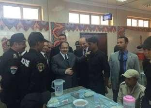 وزير الداخلية يتفقد المناطق السياحية بالقاهرة