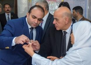 انطلاق الحملة القومية للتطعيم ضد شلل الأطفال بالإسكندرية