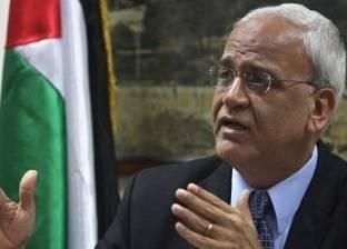 عريقات: مصر تعمل على تنفيذ المصالحة