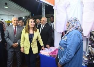 """افتتاح معرض """"ديارنا"""" للأسر المنتجة بمطروح بمشاركة 9 محافظات و60 عارضا"""
