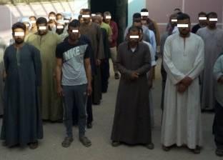 القبض على 99 متهما مطلوب ضبطهم في قضايا جنائية
