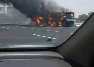 أخرها اليوم.. اندلاع 3 حرائق بأتوبيسات النقل العام بسبب درجات الحرارة