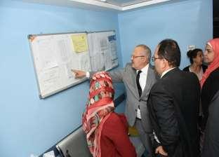 """""""الخشت"""" يفتتح أعمال تجديد وتطوير وحدة أمراض الكبد للأطفال بـ""""أبوالريش"""""""