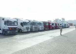 """""""تحيا مصر"""" يستقبل 200 طن لحوم من السعودية لتوزيعها على الأولى بالرعاية"""
