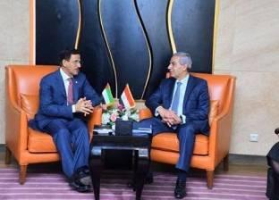 سلطان المنصوري: نسعى لإيجاد شراكة حقيقية مع مصر