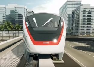 فيديو.. الظهور الأول لتصميم قطار مونوريل العاصمة الإدارية و6 أكتوبر