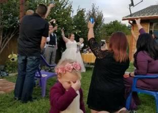 بالصور| تعبيرات «مبهجة جدا» للأطفال في حفلات الزفاف