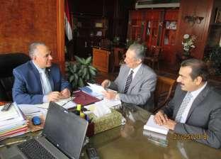 وزير الري يلتقي النائب محمد فؤاد بدراوي لاستعراض مشكلات لصرف