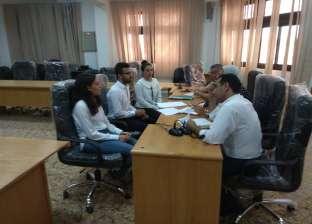 مقابلات شخصية للمرشحين للتبادل الطلابى مع أكاديمية تيسينوف البلغارية