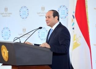السيسى يهنئ المصريين بالخارج بعيد الفطر: أعاده الله عليكم بالخير