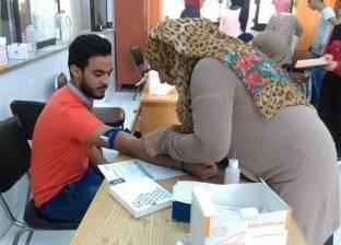 الإدارة الطبية بجامعة قناة السويس تقدم خدمات مجانية للطلاب والأساتذة