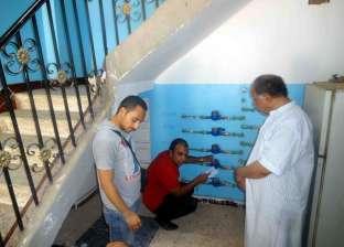 """""""بدري"""": رصدنا 47 ألف حالة تعدٍ على خطوط مياه الشرب والصرف في سوهاج"""