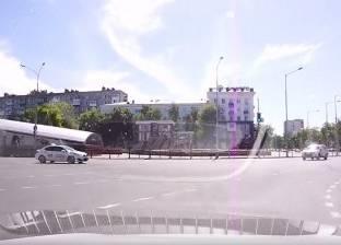 بالفيديو| كاميرا مراقبة ترصد حادث سير فظيع
