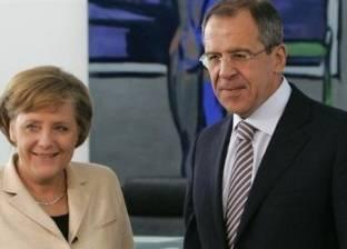 ميركل تلتقي لافروف ورئيس هيئة الأركان الروسية لبحث سوريا وأوكرانيا