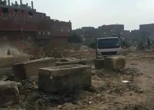 إزالة 5 آلاف طن مخلفات من مقابر اليهود في البساتين