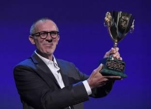 """كامل الباشا بعد جائزة أفضل ممثل بـ""""فينيسيا"""": شكرا لمن فرح عشاني وبسببي"""